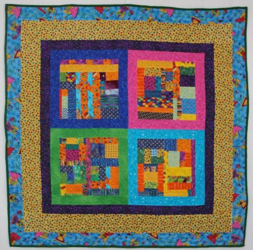 "kid fabrics #1-  48"" x 48"""