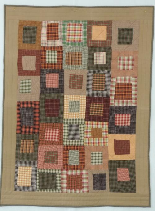 "Yarn dyed Scraps #1-  36"" x 48"""